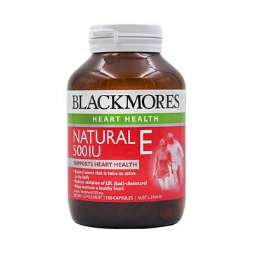 【驻颜抗衰】澳洲Blackmores 澳佳宝 天然维生素E胶囊500IU 150粒