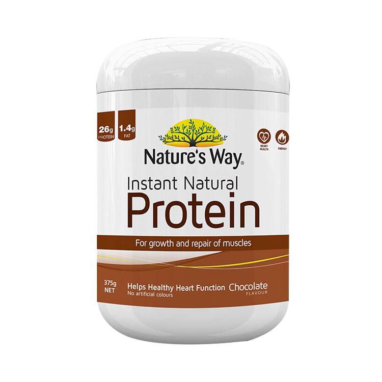 【香醇巧克力味蛋白粉】佳思敏Nature's way2018注册送白菜网站大豆蛋白粉 白巧克力味 375g