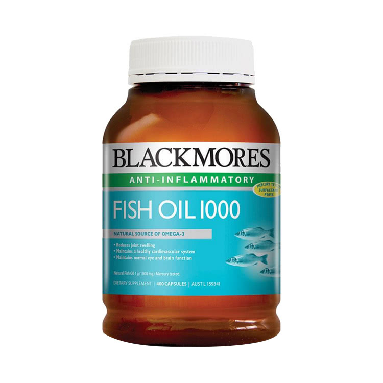 【保护心血管】澳洲Blackmores 澳佳宝深海鱼油胶囊 400粒/瓶