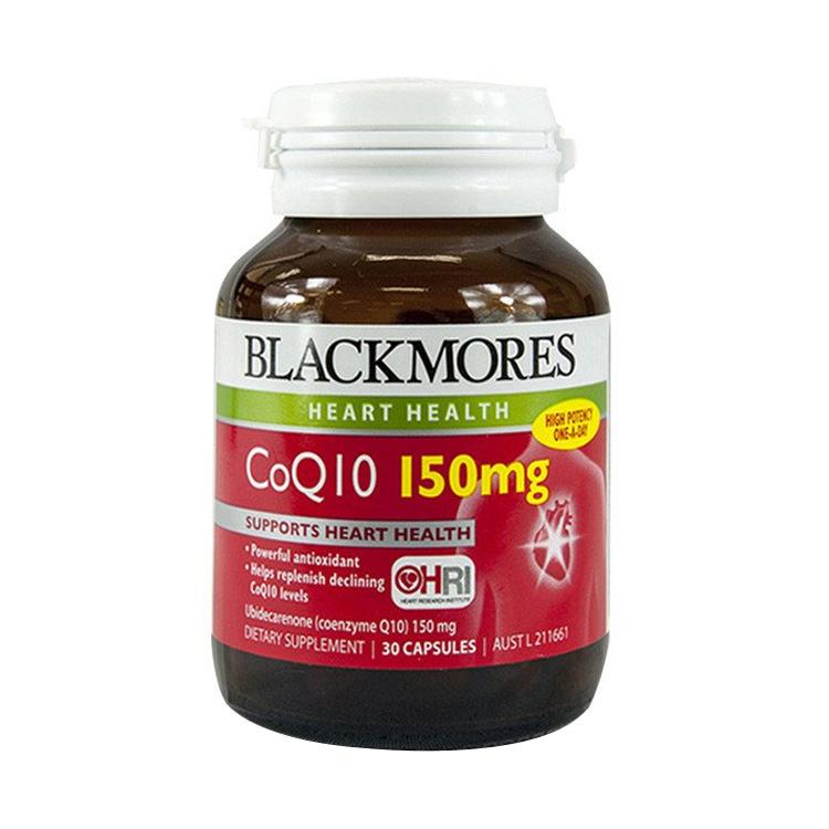 【激活心脏源动力】Blackmores澳佳宝辅酶Q10 150mg*30粒