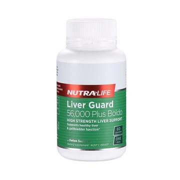 【呵护您的小心肝】新西兰Nutra-Life纽乐护肝宝加波尔多叶 60粒