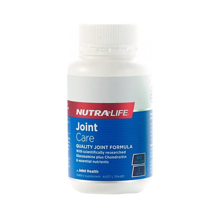 【润滑关节】新西兰Nutra-Life纽乐氨糖关节灵60粒