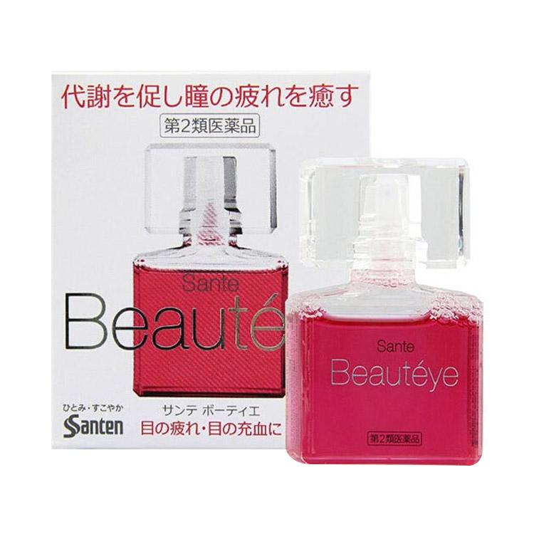 【玫瑰淡香】日本SANTEN-FX参天眼药水 清凉滴眼液(玫瑰香)12ml