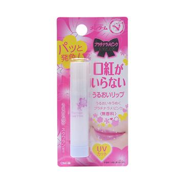 【唇彩型唇膏】OMI 近江兄弟 靓丽唇彩型唇膏 3.5g 白金粉