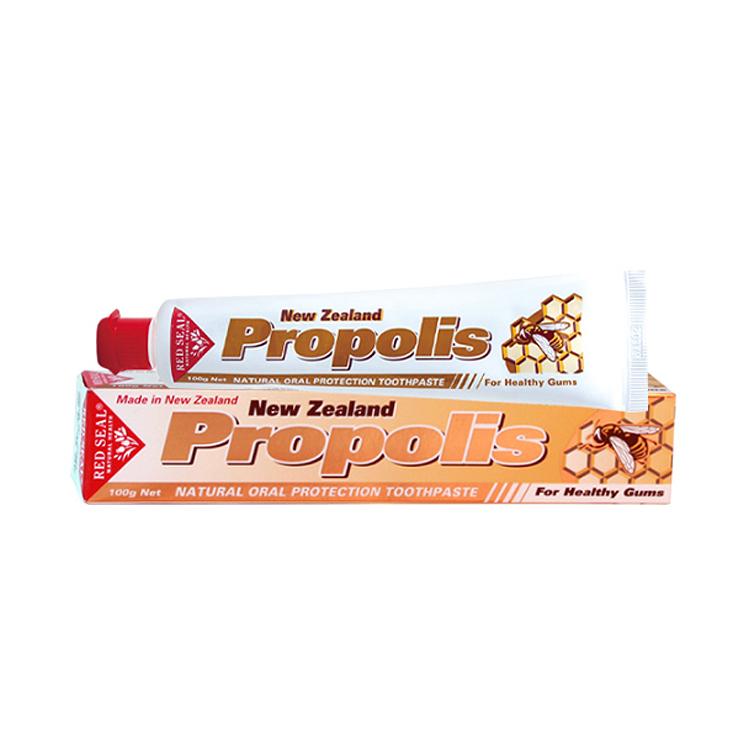 【改善牙龈出血】新西兰Red Seal Propolis红印蜂胶牙膏 100g/支