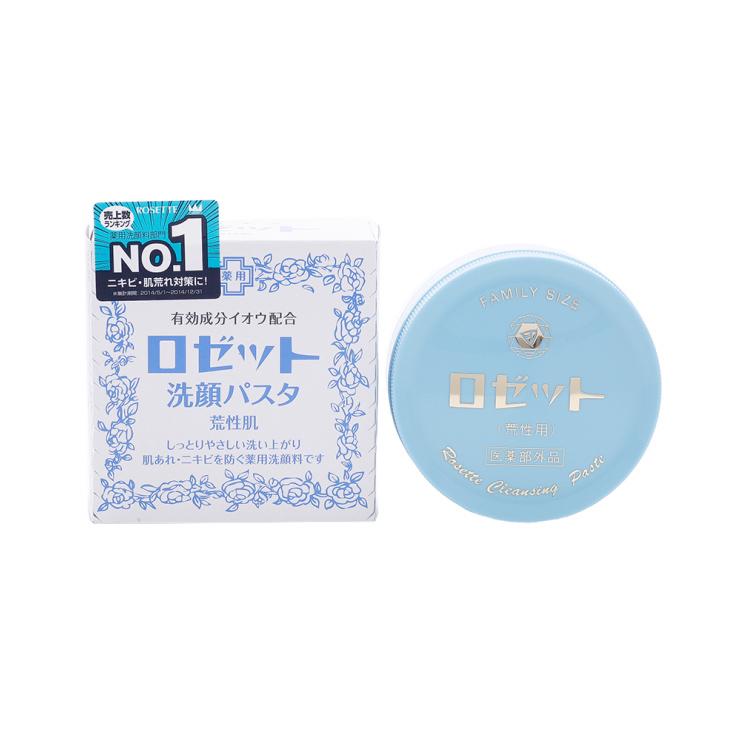 【收缩毛孔去黑头】ROSETTE 诗留美屋||Paste毛孔清洁硫磺洁面膏||90g 日本进口