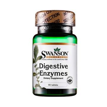 【肠胃守护神】美国斯旺森Swanson 消化酶营养片90片