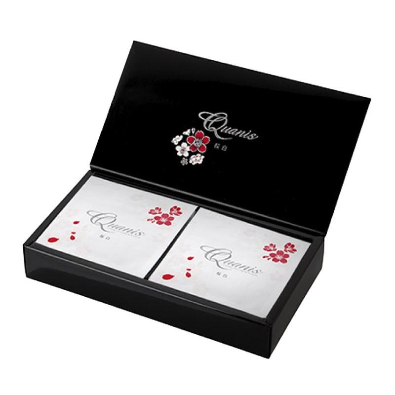 日本進口克奧妮斯Quanis櫻美白套盒(櫻美白面膜8片*2盒,櫻美白保濕液50g)高濃度保濕微針