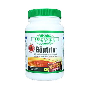 Organika goutrin黑樱桃西芹籽精华降尿酸缓解痛风*120粒