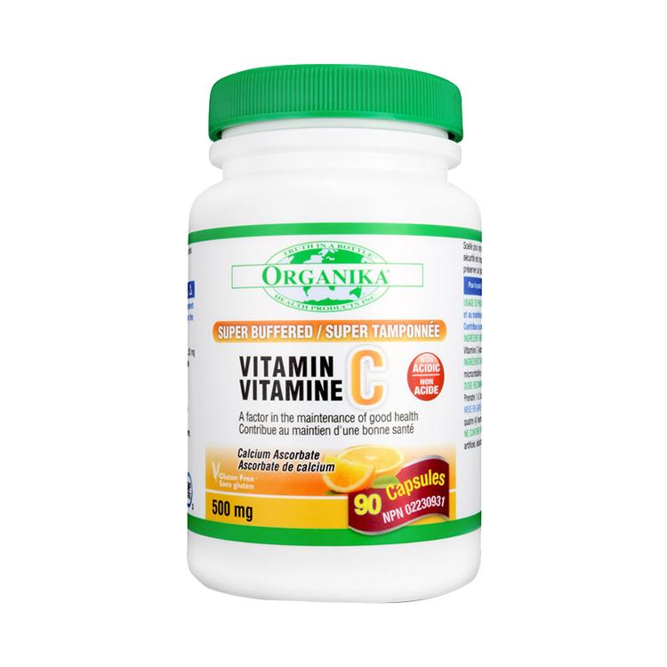Organika VitaminC 缓释无酸维生素C*90粒