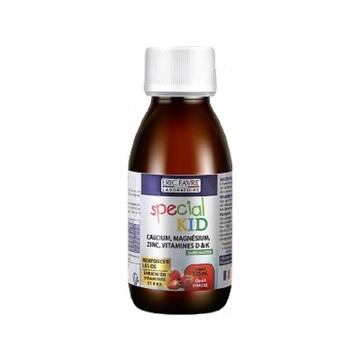 法国Eric Favre埃里克儿童钙镁锌营养液 草莓味 125ml