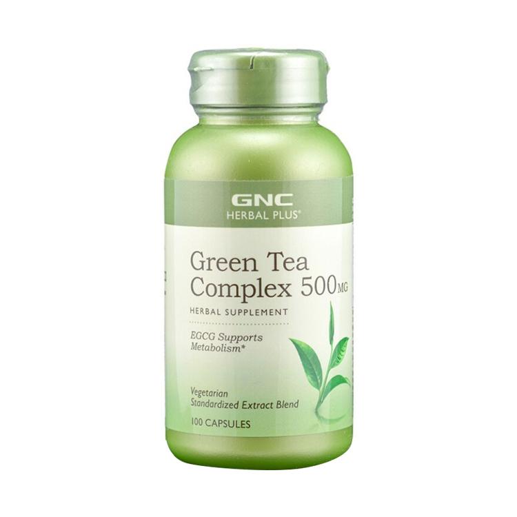 【清肺抗氧 维护心血管】美国GNC健安喜 绿茶精华胶囊100粒