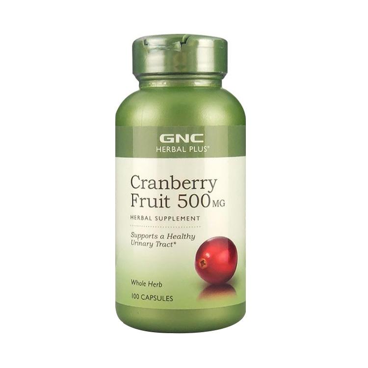 【私处养护】美国GNC 健安喜蔓越莓胶囊500mg*100粒