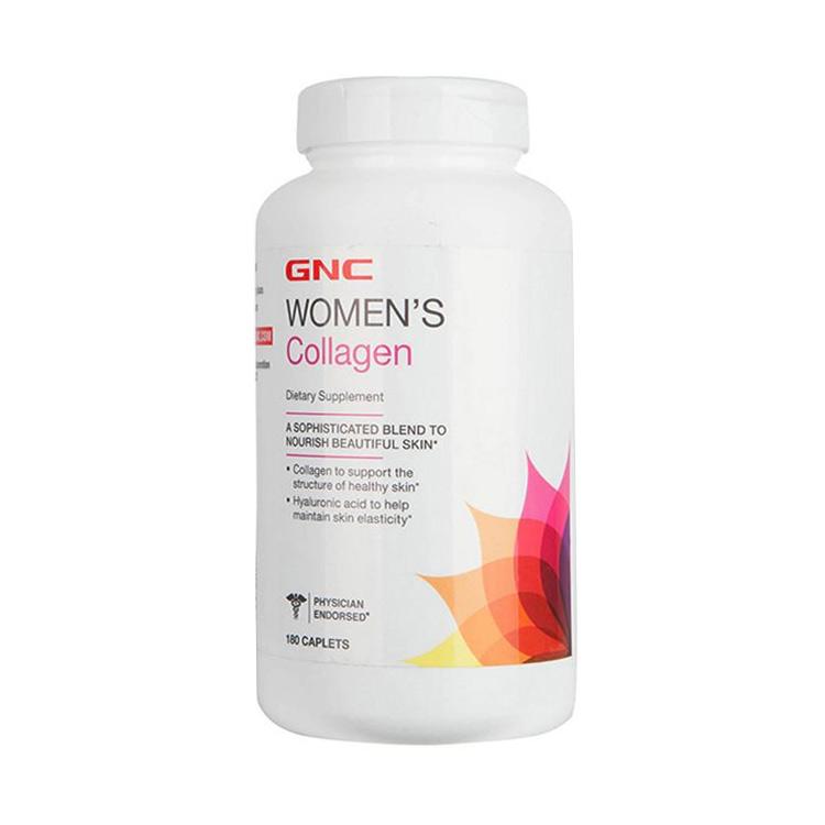 【肌肤透白润弹】美国GNC 健安喜 胶原蛋白营养片 180片