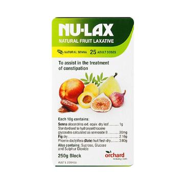 [润肠清宿便] 澳大利亚NU-LAX乐康膏 果蔬润肠排毒养颜250g