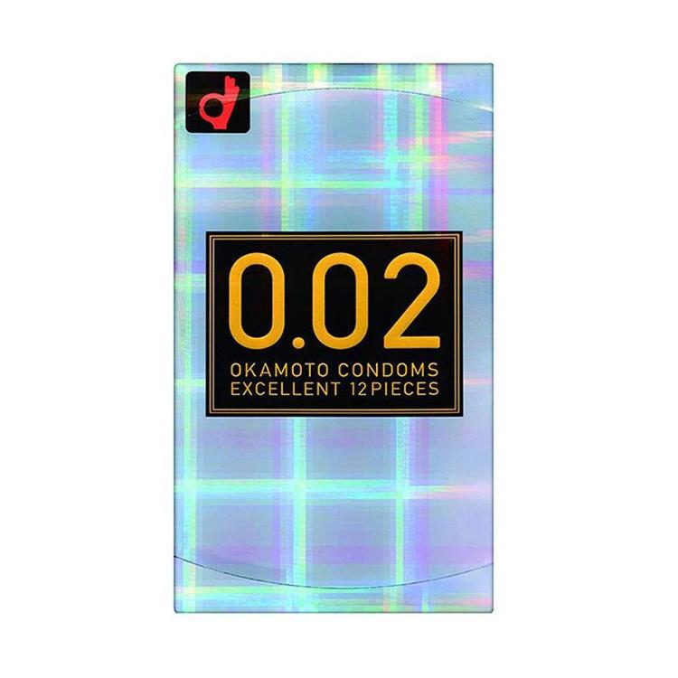 Okamoto冈本002超薄标准码安全套12只装 避孕套