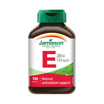 【驻颜抗衰】加拿大健美生维生素E软胶囊 100粒