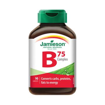 【抗压力 升活力】加拿大健美生维生素B族复合片(B75) 90片