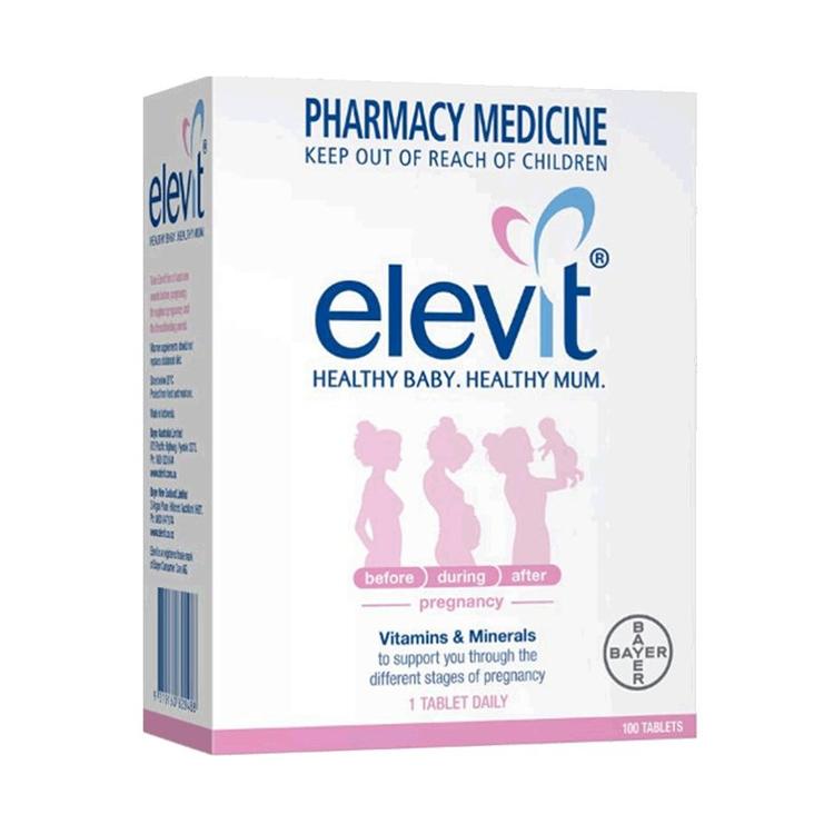【好孕妈咪 健康宝宝】澳大利亚elevit 爱乐维孕妇营养素 100片