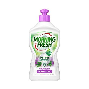 【去污抗菌】澳大利亚 Morning Fresh 超浓缩护手洗洁精 400ml 淡香白茶味