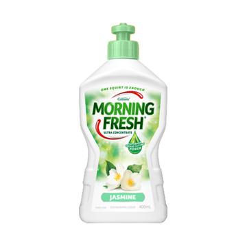 【去污抗菌】澳大利亚 Morning Fresh 晨逸超浓缩洗洁精 400ml 清香茉莉味