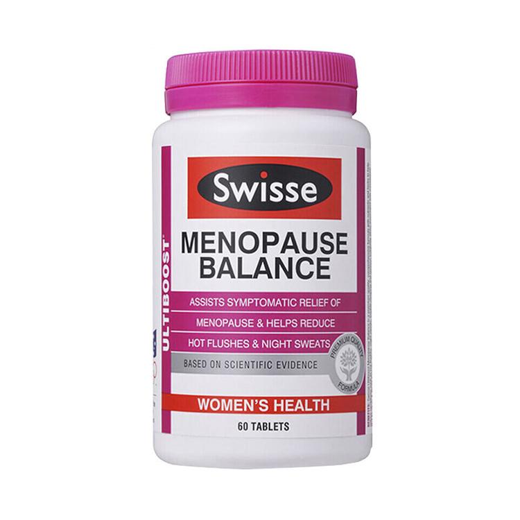 【呵护更年期女性健康】澳洲Swisse 更年期平衡营养素 60粒