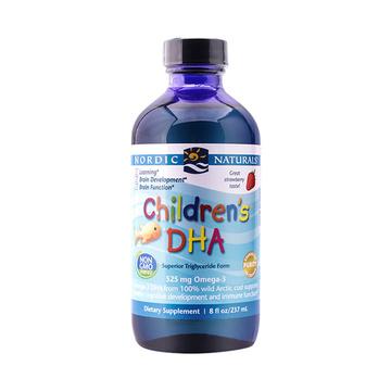 Nordic Naturals 挪威小鱼 婴幼儿童DHA深海鳕鱼肝油 草莓味 237毫升