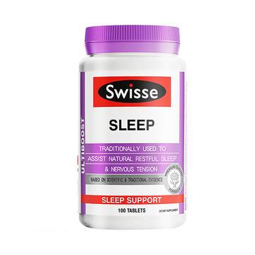 【草本提取,提高睡眠质量】澳洲Swisse 睡眠片 100片/瓶