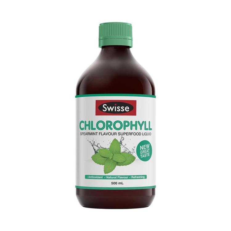 [健康清肠道] 澳洲Swisse 叶绿素液 500ml/瓶  薄