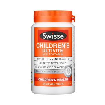 【补充每日所需营养】澳洲Swisse儿童复合维生素咀嚼片120片