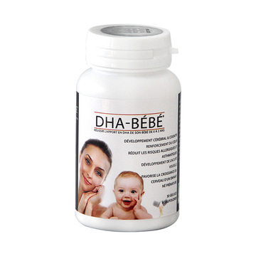 【高纯度鱼油,专为0-2岁宝宝设计】法国DHA FRANCE 宝宝DHA粉胶囊 30粒 婴幼儿童
