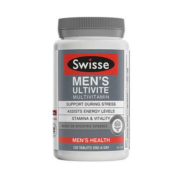 【提神醒脑 缓解压力】澳洲Swisse 男士复合维生素 120片/瓶