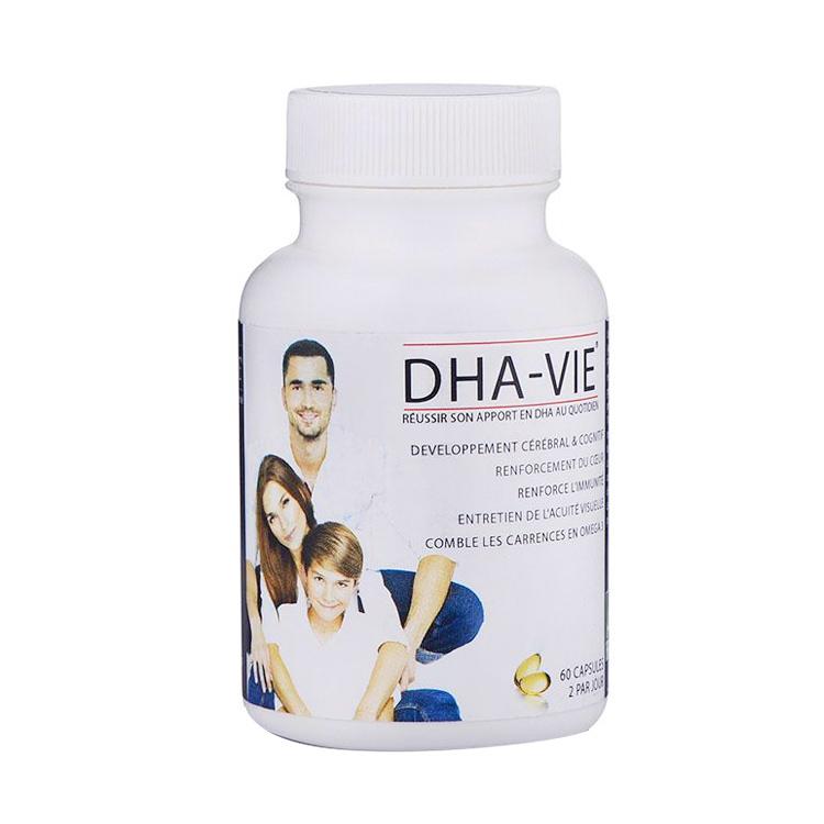 【健康生活常备】法国DHA FRANCE-VIE成人DHA深海鱼油胶囊 60粒