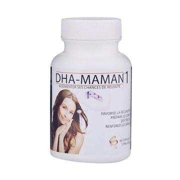 【备孕妈妈优选】法国 DHA FRANCE-MAMAN 1 备孕期DHA深海鱼油胶囊60粒