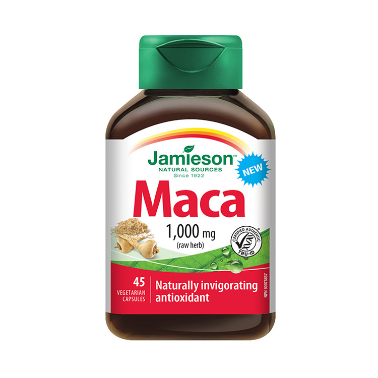 【男人加油站】jamieson健美生Maca玛卡浓缩胶囊 45粒