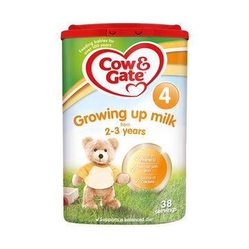 【2罐4段 英国原装】牛栏 婴幼儿奶粉 4段 2-3岁 800g*2罐