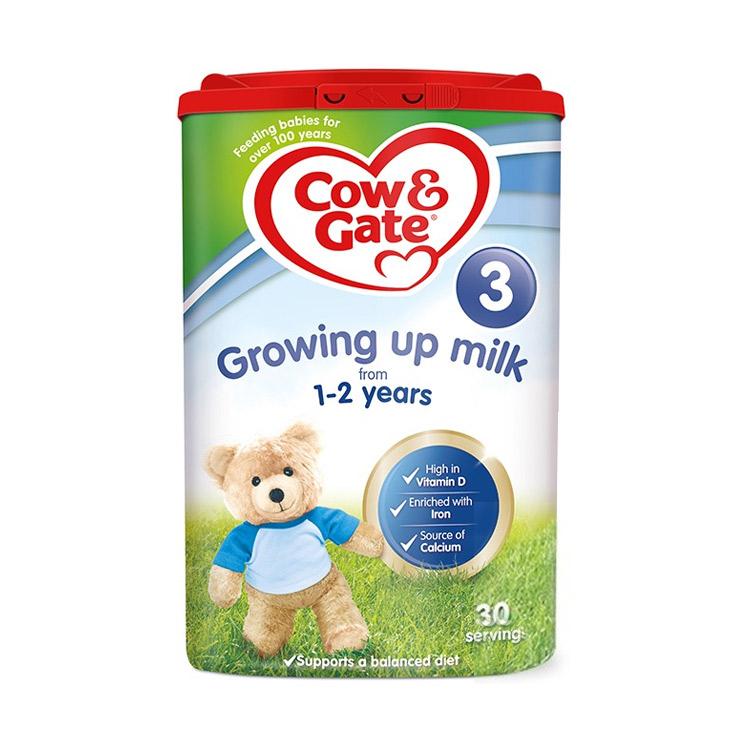 【4罐3段 英国原装】牛栏 婴幼儿奶粉 3段 1-2岁 800g*4罐