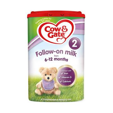 【4罐2段 英国原装】牛栏 婴幼儿奶粉 2段 6-12个月 800g*4罐