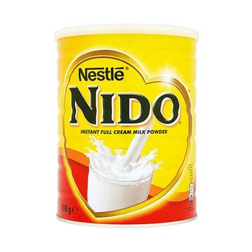 【2罐 荷兰进口】雀巢奶粉NIDO 孕妇成人高钙全脂奶粉 900g*2罐