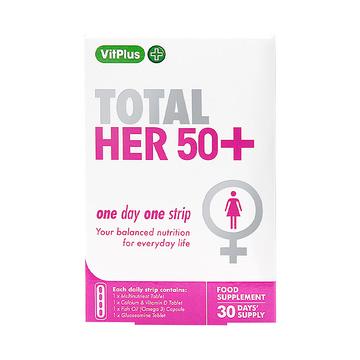 【中年女士营养补充方案】VitPlus 女士50+口袋营养条 30条/盒