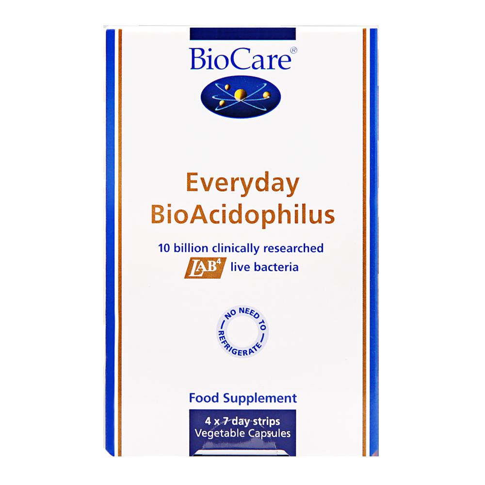 【100亿活益生菌】Biocare每日益生菌胶囊 28粒/盒