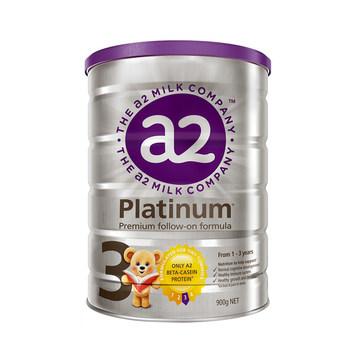 【澳洲直邮】A2 白金系列 幼儿配方奶粉 3段 900g
