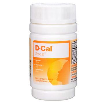 【美版迪巧秀源女性钙】D-Cal迪巧 维D女性补钙钙片30片 添加大豆异黄酮 适合中老年女性