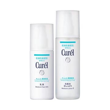 【日本进口 包邮包税】Curel珂润干燥敏感肌保湿2件套 2号水150ml+乳120ml