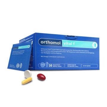【女士抗压缓解疲劳】德国 ORTHOMOL vital f 奥适宝女士综合营养素复合维生素片*30