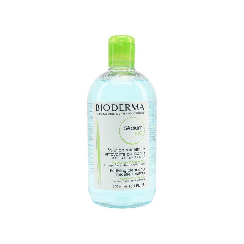 法国Bioderma 贝德玛净妍温和卸妆水500毫升蓝水油性混合性肌肤适用
