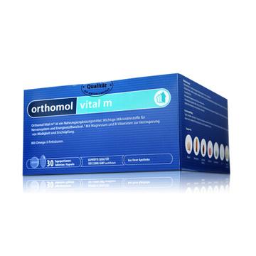 【男士抗压改善亚健康】德国 ORTHOMOL vital m 奥适宝男士综合营养素复合维生素片*30