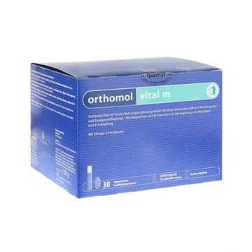 【男士抗压缓解疲劳】德国 ORTHOMOL vital m 奥适宝男士高档复合维生素口服液*30/盒