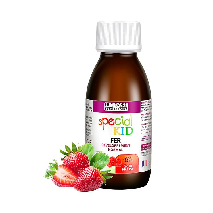 【儿童补铁 温和不刺激】法国Eric Favre艾瑞可 儿童补铁营养液 125ml 水果味