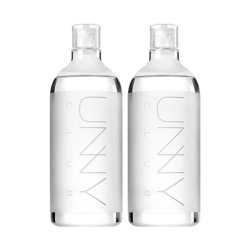 【2瓶装】【香港直邮】【深层清洁】韩国UNNY 悠宜 深层清洁卸妆水 500ml